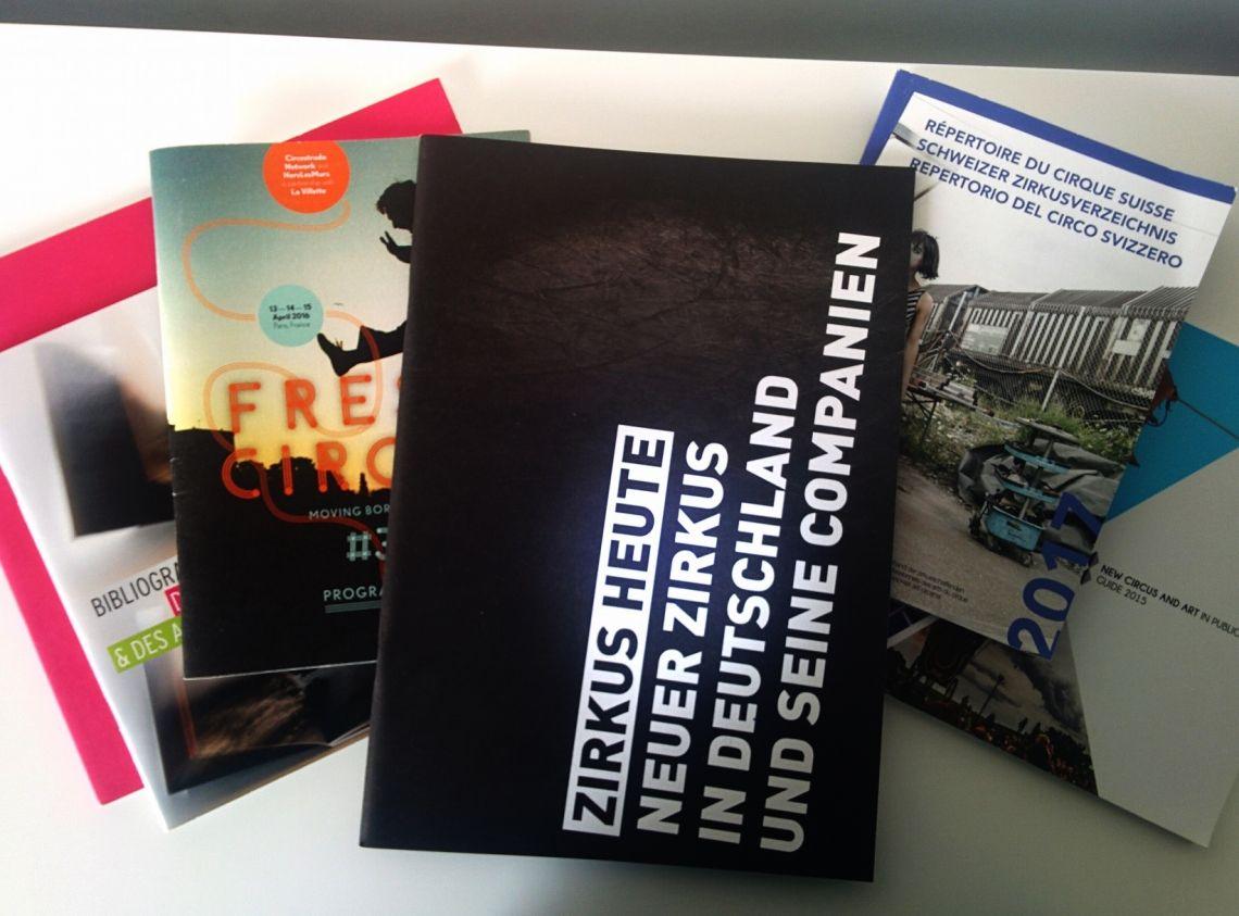 """Werdet Teil der Broschüre """"Zirkus Heute"""" von der Initiative Neuer Zirkus!"""