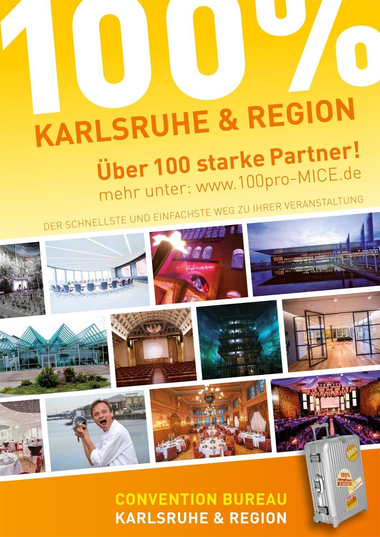 Convention Bureau Karlsruhe präsentiert sich auf der LOCATIONS Messe Rhein-Neckar am 14. Februar 2019