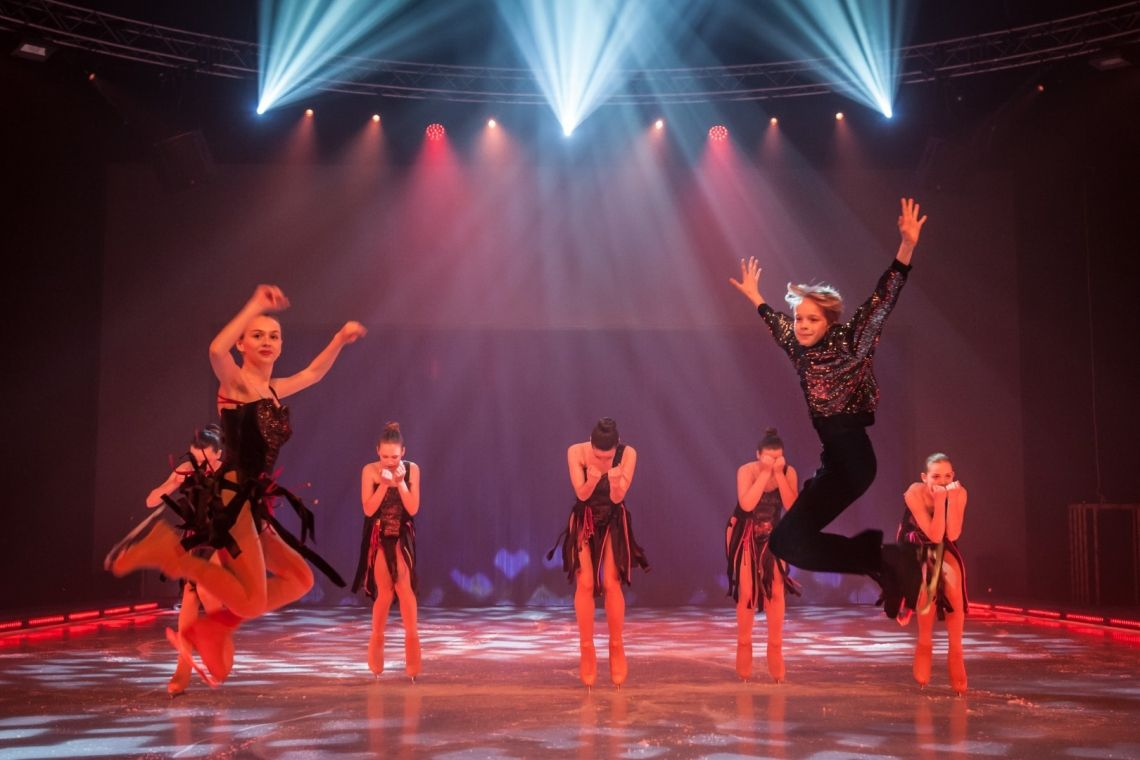 "Europa-Park Talent Academy Nachwuchs bei ""Holiday on Ice"""
