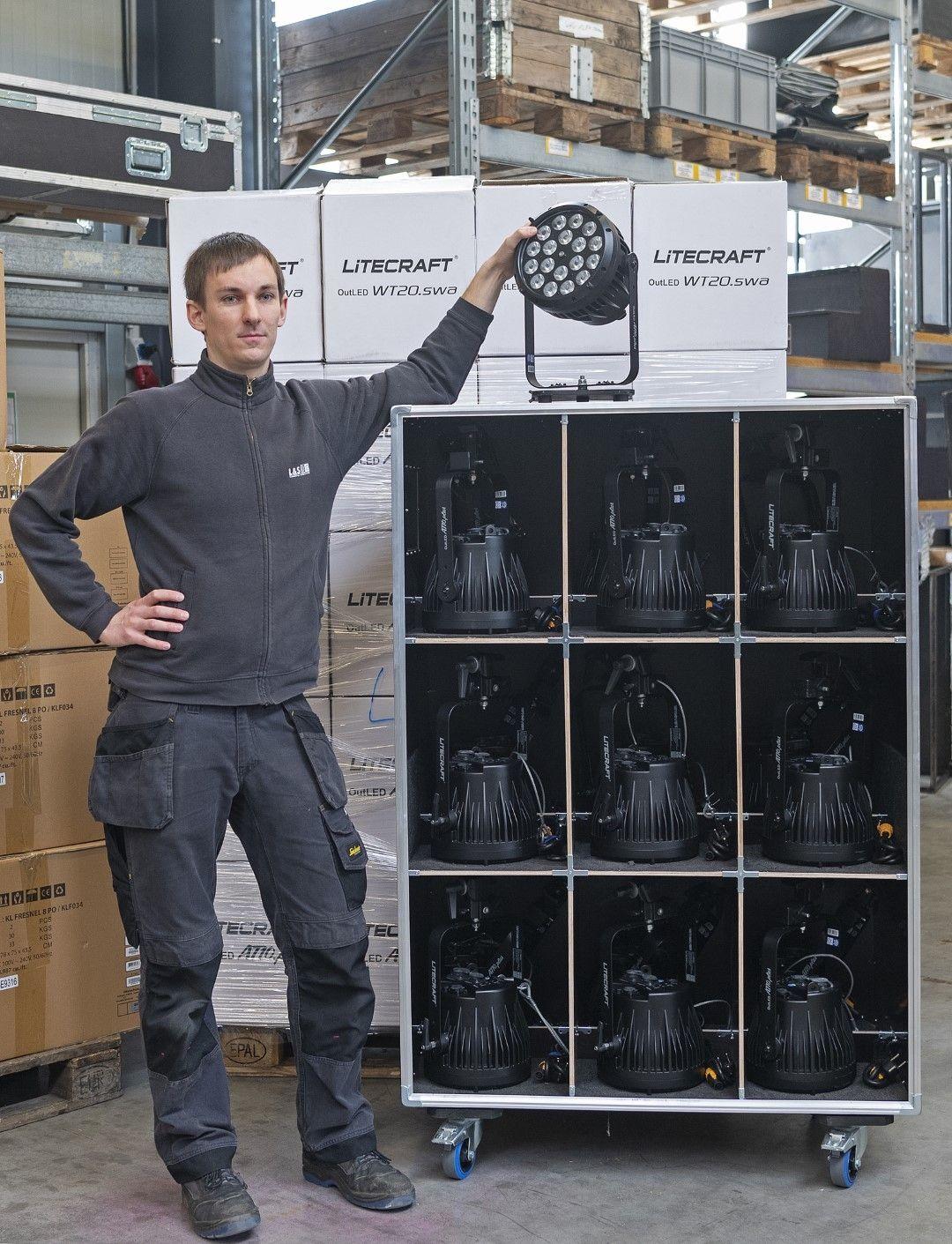 L&S baut Bestand an LITECRAFT-Scheinwerfern massiv aus