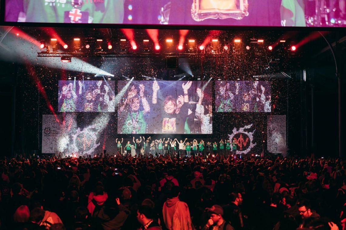 dlp motive beim Final Fantasy Fan Festival in Paris