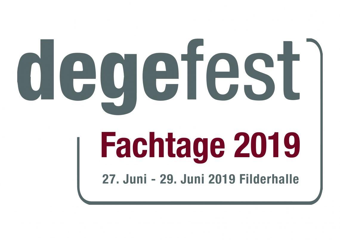 """degefest-Fachtage 2019:  """"Ressource. Digital. Mensch"""""""
