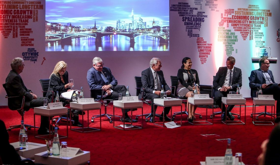 Urbane Raumplanung trifft auf Eventbranche: Diskussionen + Workshops + Expertengespräche beim IMEX Policy Forum 2019