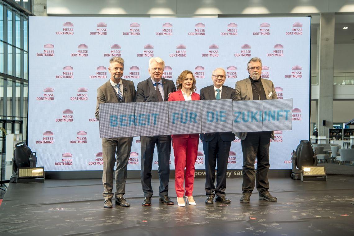 Neuer Messeeingang Nord der Messe Dortmund eröffnet