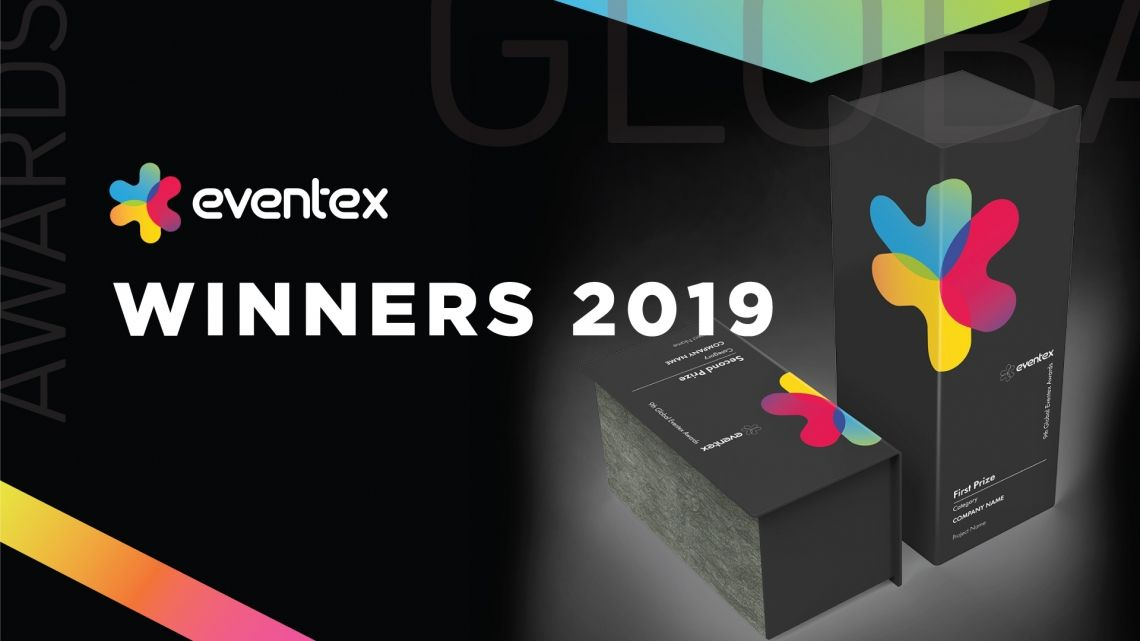 Eventex announces the winners in the 9th edition of the global awards