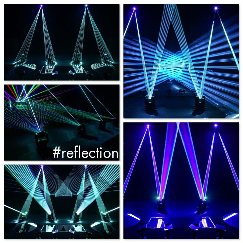 #reflection - innovative Laserperformance der Bochumer tarm Showlaser GmbH