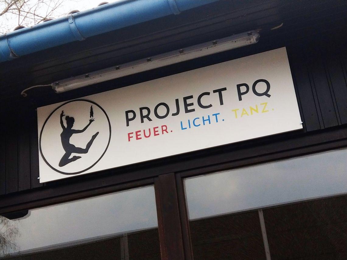 Die mit dem Licht tanzen- neuer Proberaum für Project PQ