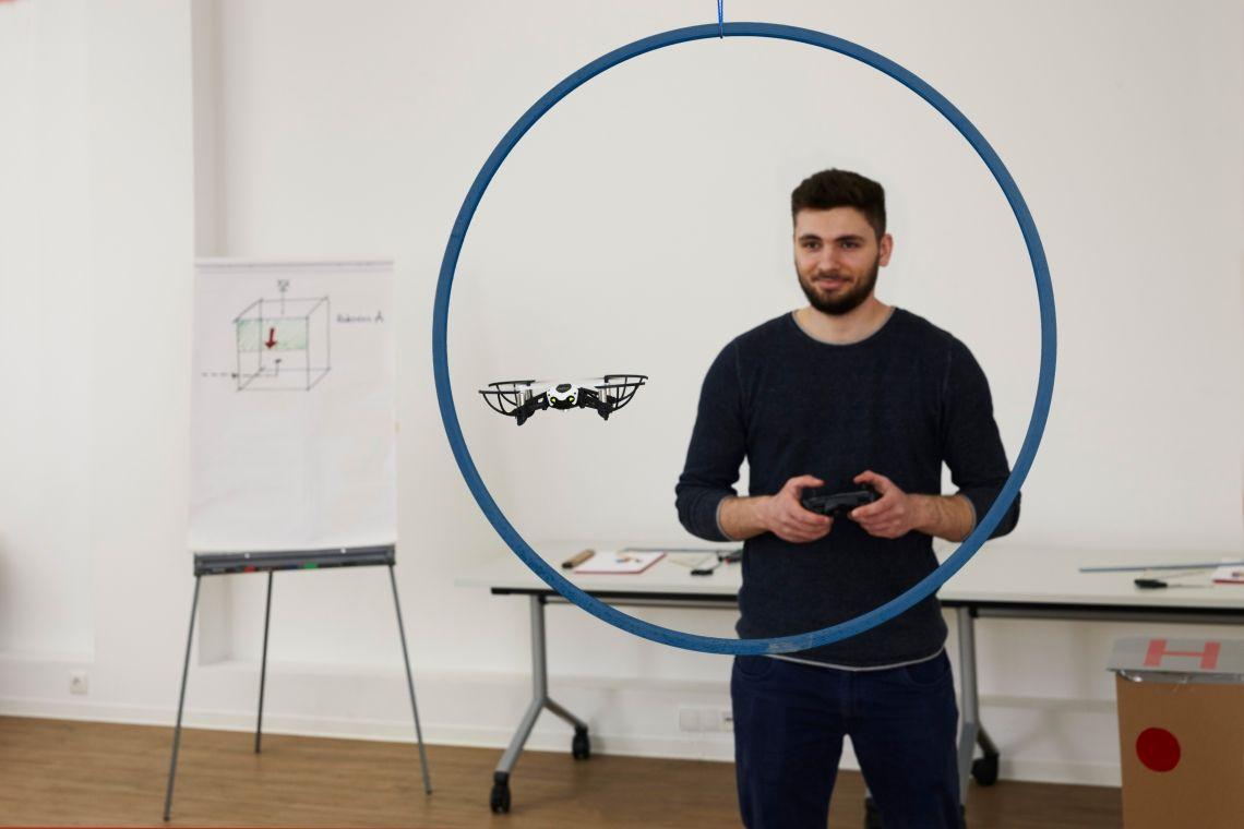 Drohnen-Teamevent – neues indoor Teamprogramm von mSa