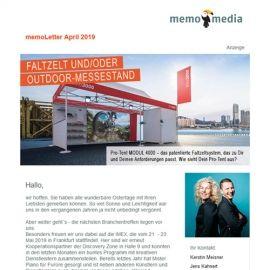 memoLetter 04-2019