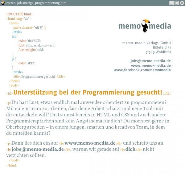Unterstützung bei der Programmierung gesucht!