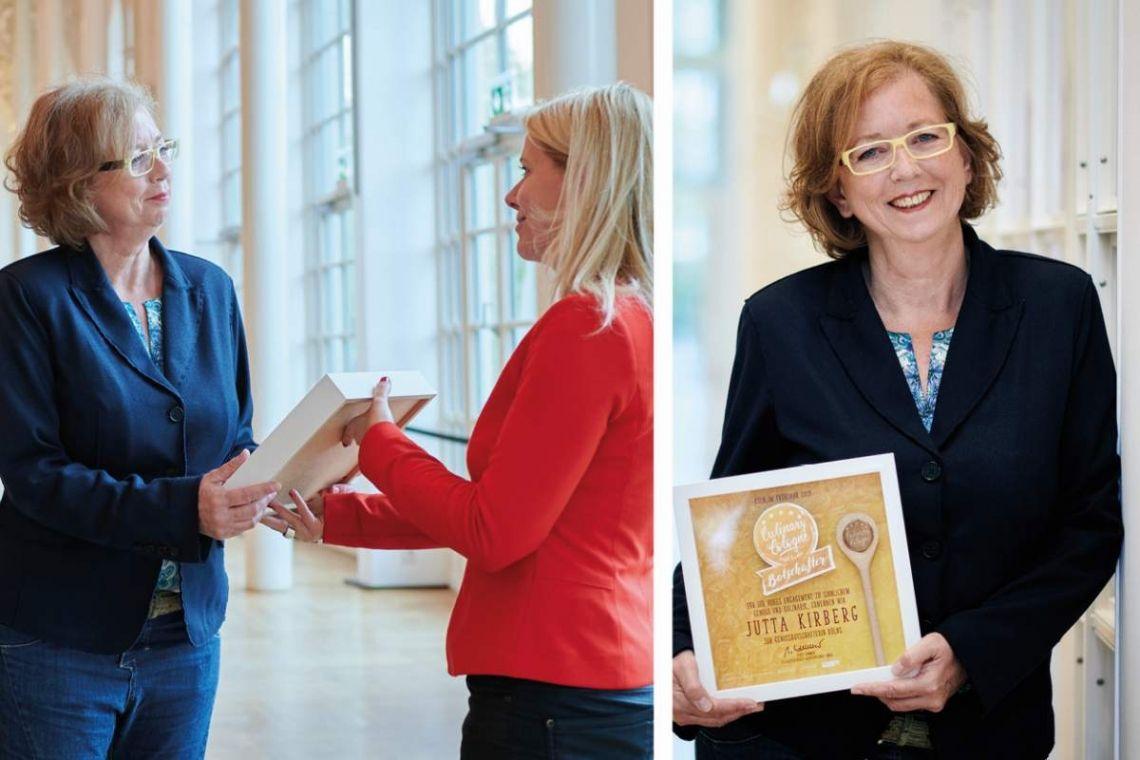 KölnTourismus  ernennt Jutta Kirberg zur Genussbotschafterin