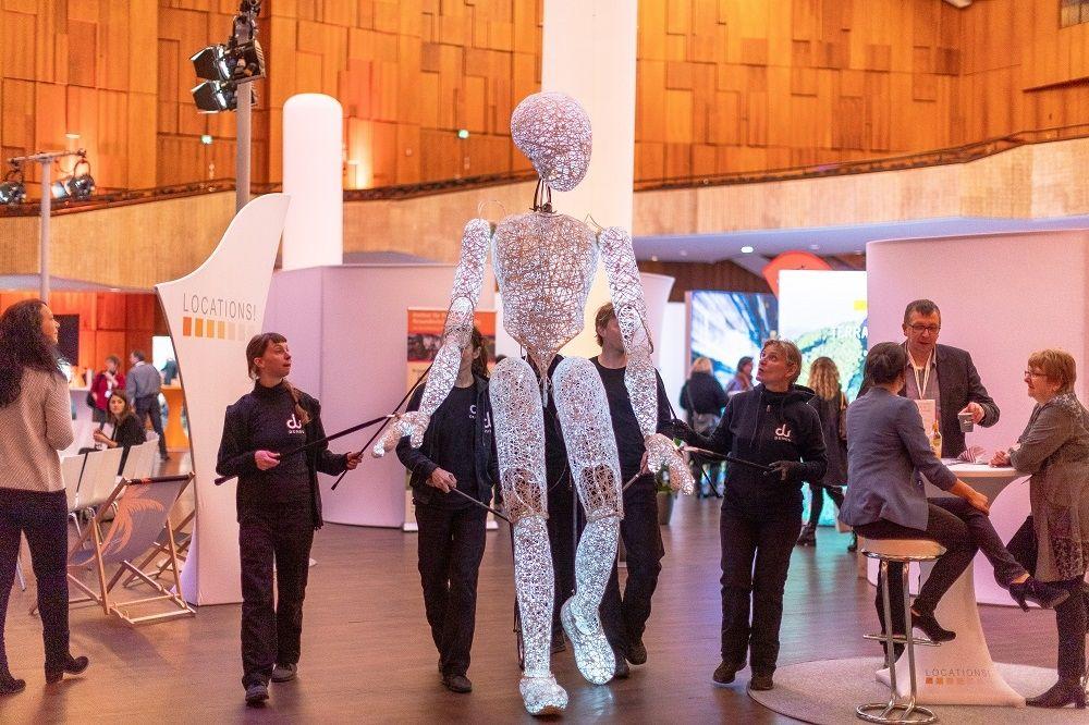 Raum für Veranstaltungen - LOCATIONS Region Stuttgart kommt in die Liederhalle
