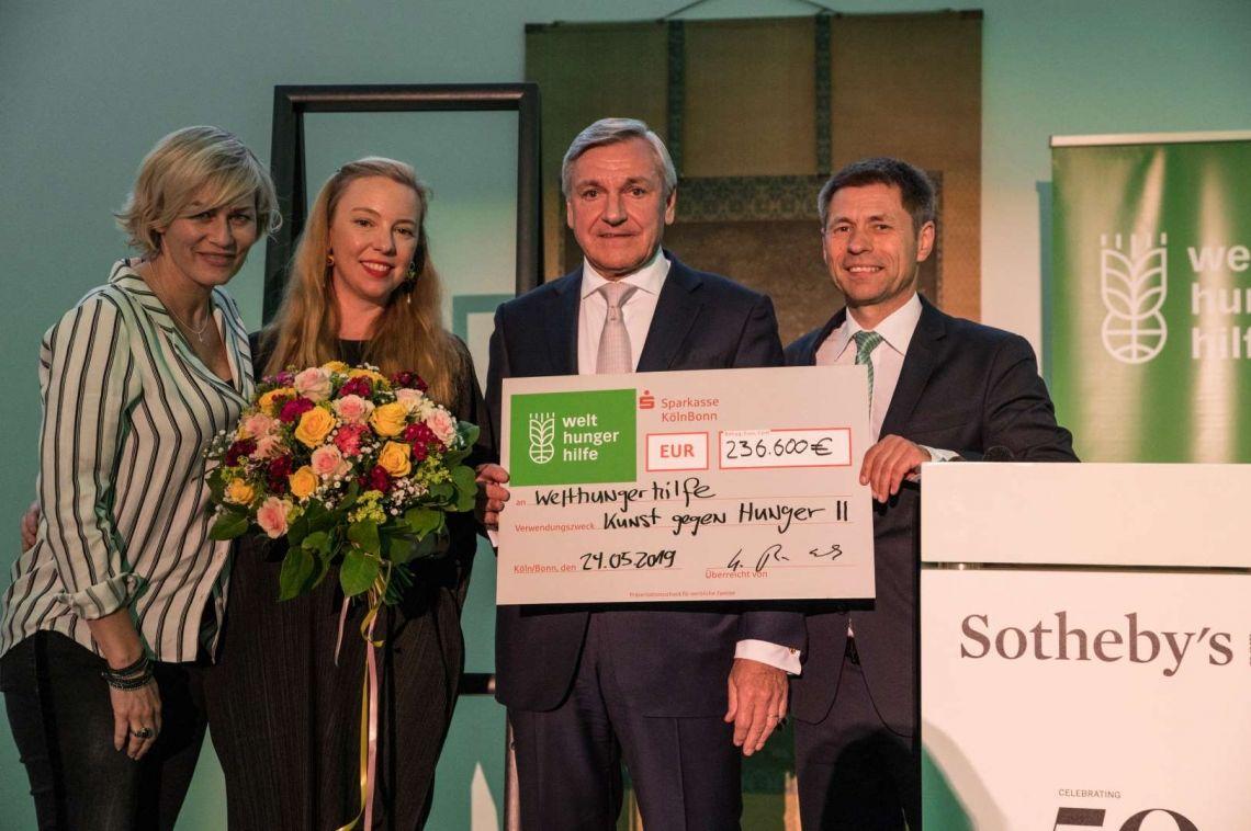 Langen Foundation erneut Veranstaltungsort für Benefiz-Auktion der Welthungerhilfe