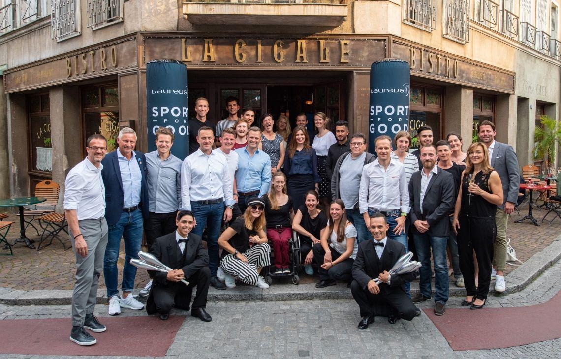 Botschafter in der Achterbahn: Laureus Sport for Good zu Besuch im Europa-Park