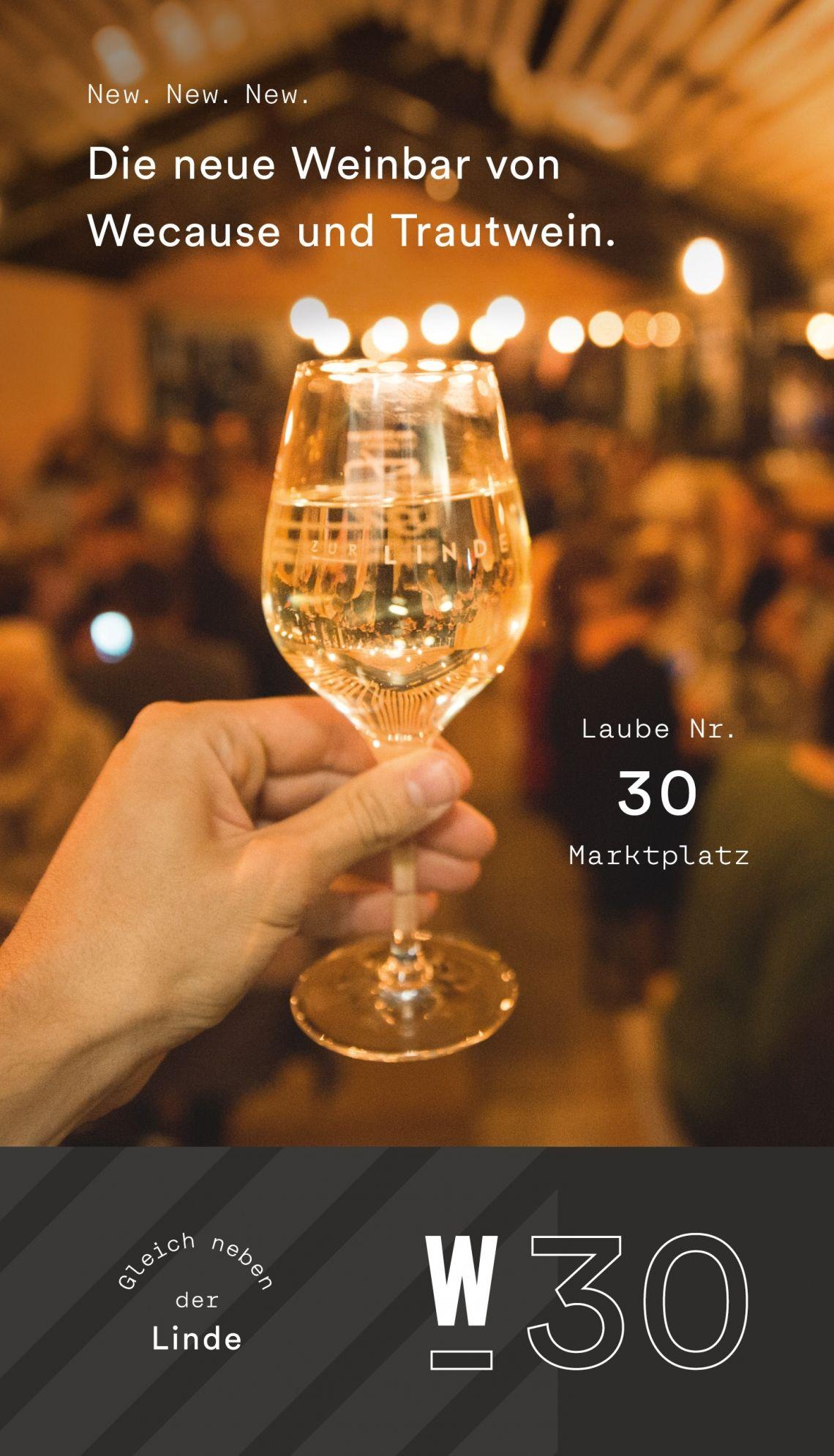 Die neue Weinlaube W-30