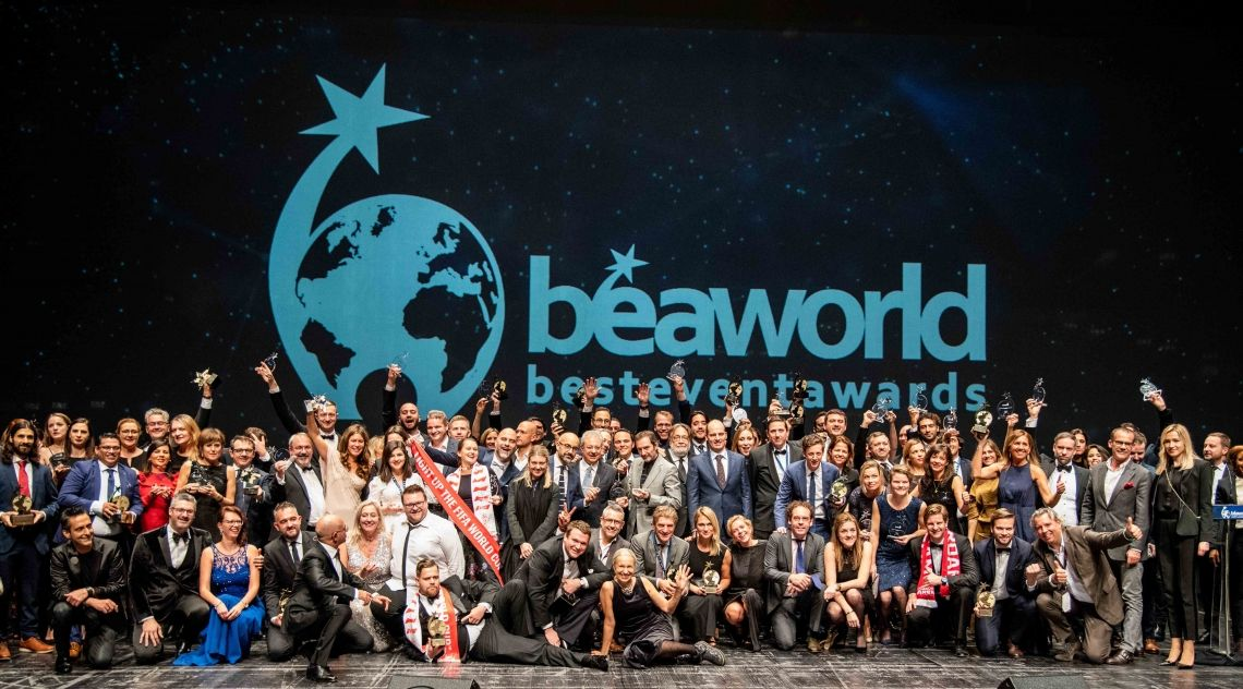 Bea World 2019: tickets available and entries open for the Best Event Awards and Best Location Awards.