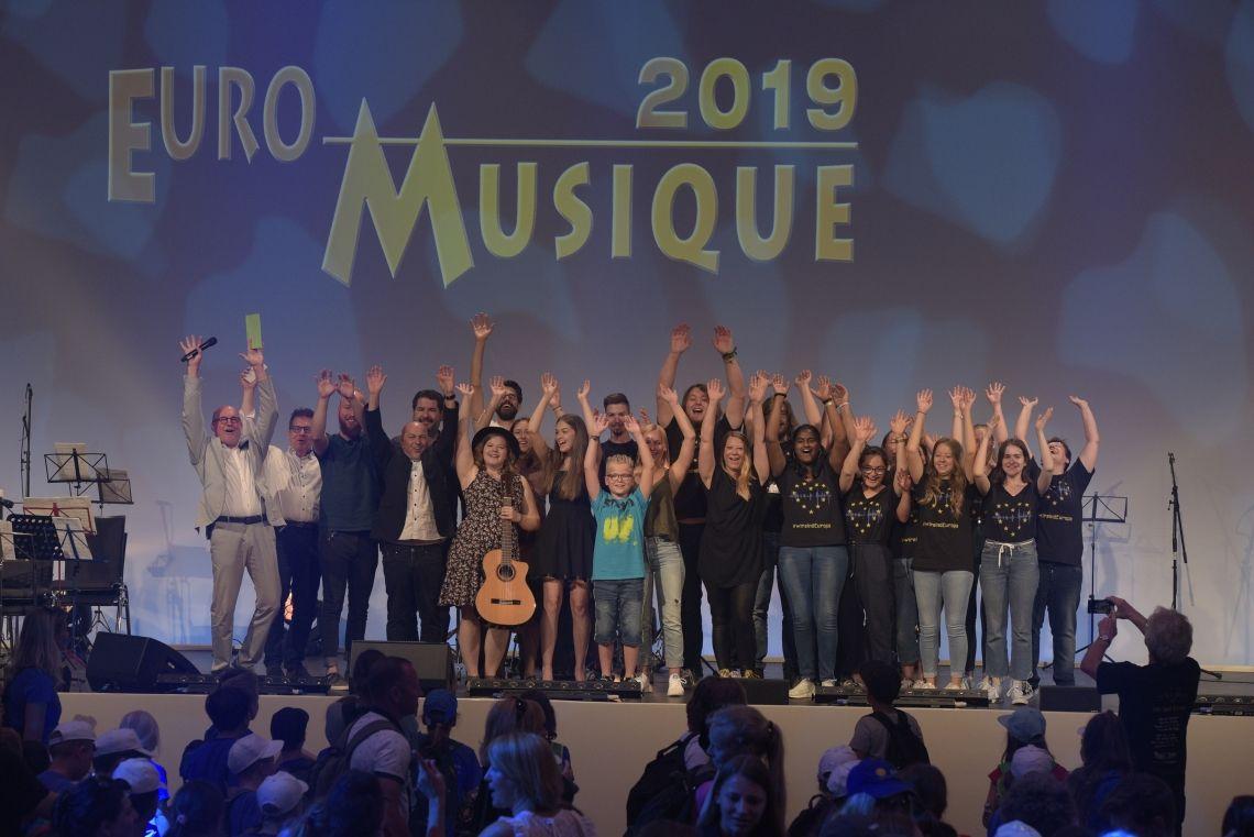 Euro-Musique Festival im Europa-Park - Kinder und Jugendliche feiern 20. Jubiläum