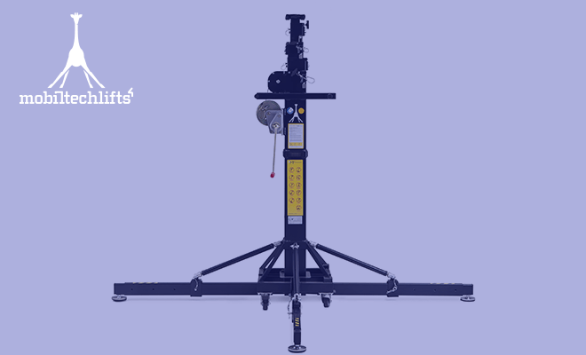 Mobiltechlifts ML2 bietet eine kompakte Hubkraft