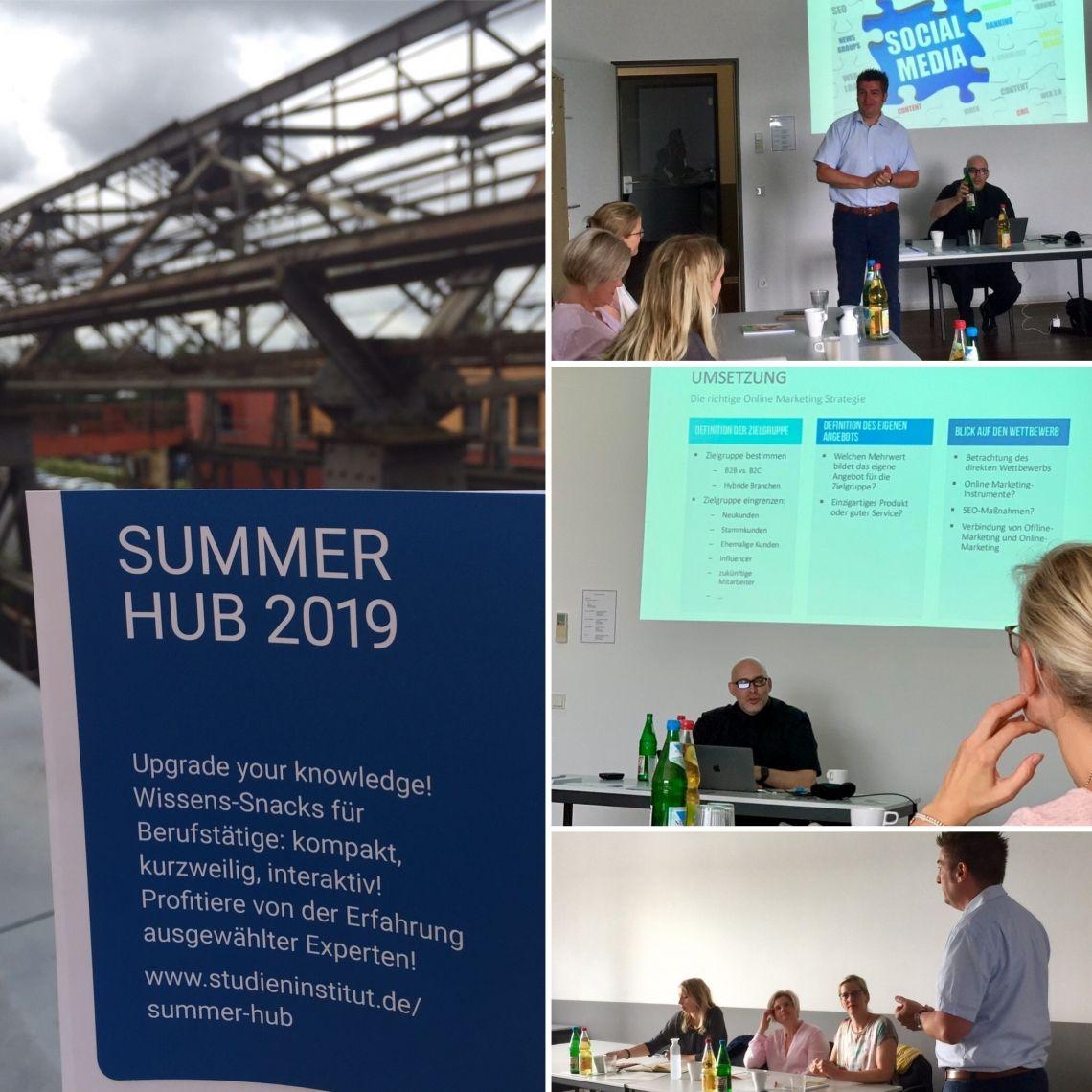 Premiere des Summer Hub 2019 überzeugte