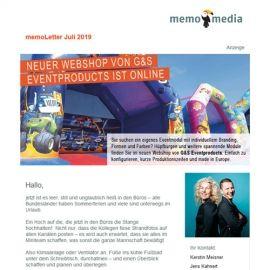 memoLetter 07-2019