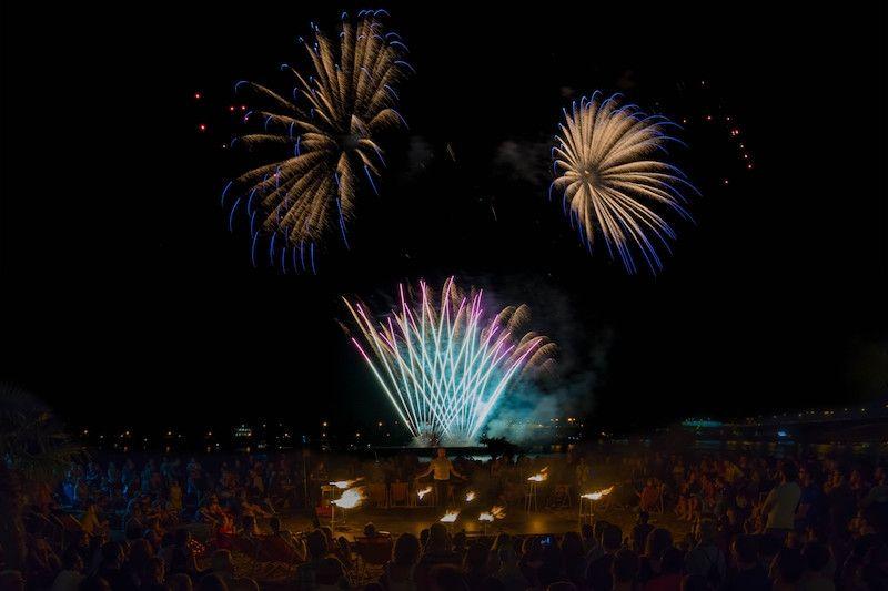 Feuershows begeistern rund 200.000 Gäste der Mainzer Sommerlichter