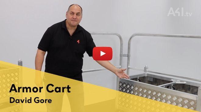 Veröffentlichung des Videos zum MILOS Armor Cart