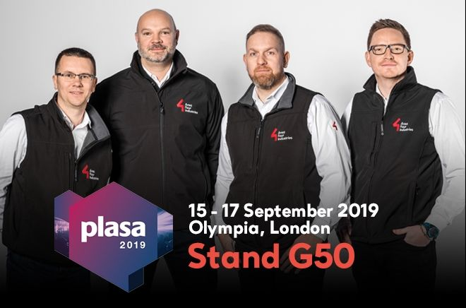Area Four Industries at PLASA