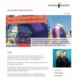 memoLetter 09-2019