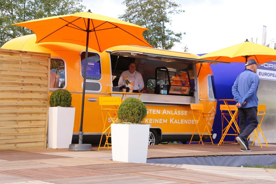 "LPS Event Catering macht Porsche European Open zu ""Hole in One"""