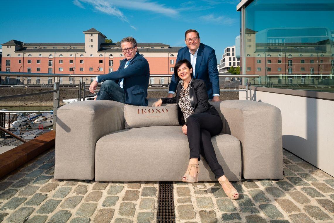 Neuer Partner für IKONO Möbelmanufaktur: IKONO Rent bietet exklusive Event-Möbel an