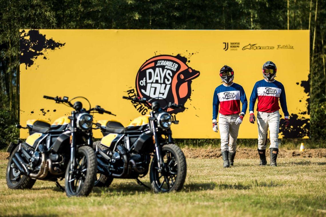 VOK DAMS realisiert die erste Ducati Scrambler Riding School in Asien