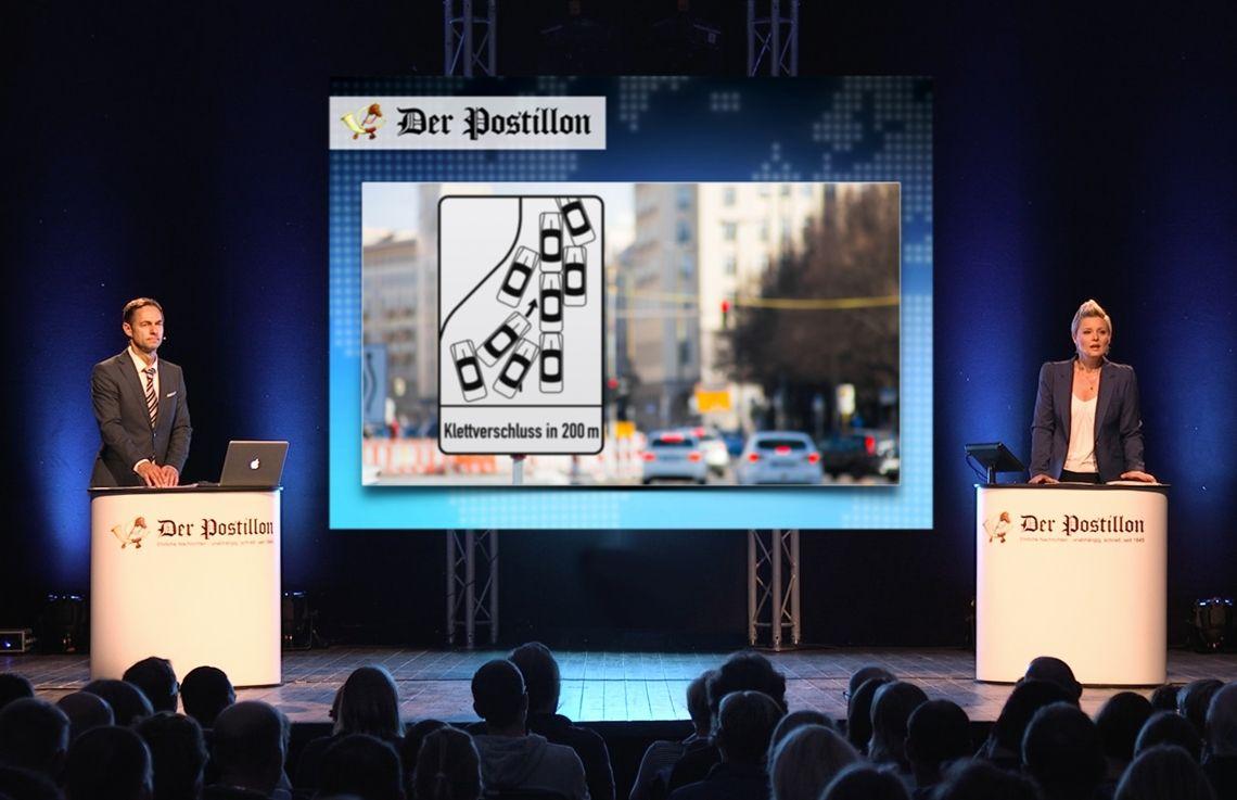 Der Postillon - Live Deutschlandtour mit Anne Rothäuser und Thieß Neubert