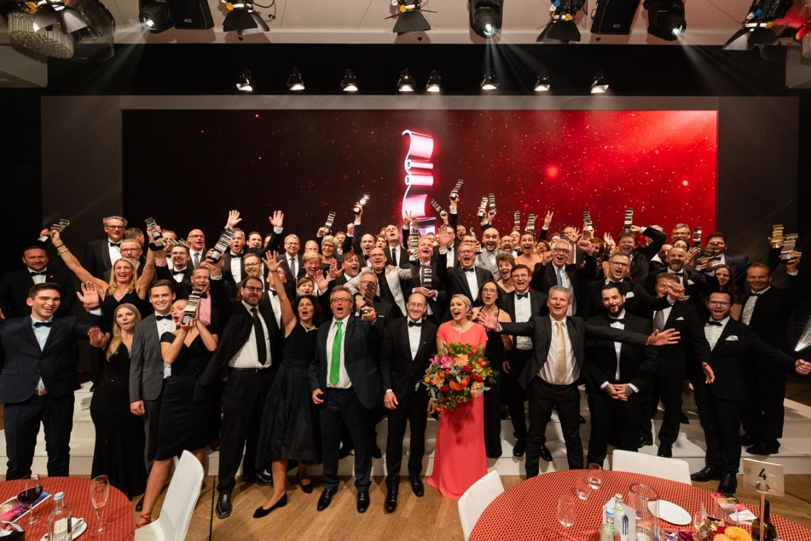 visuals united AG erneut ausgezeichnet: FOTOBODEN™ gewinnt Druck & Medien Award 2019