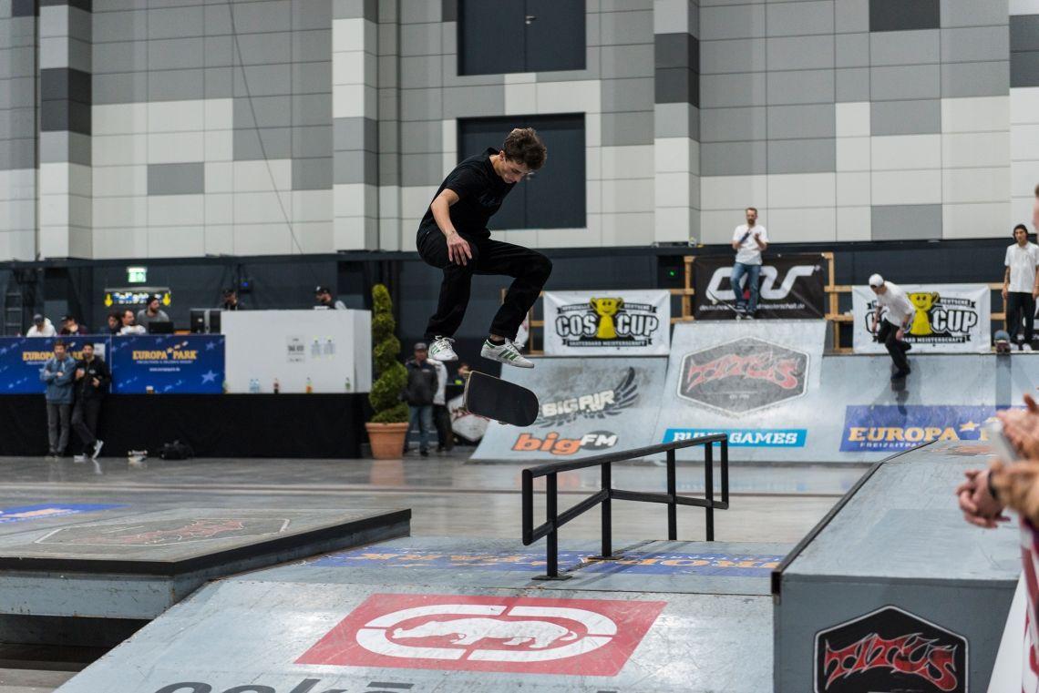 Jubiläum beim COS Cup 2019 – Die Deutsche Skateboard-Meisterschaft zum 10. Mal im Europa-Park