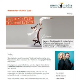memoLetter 10-2019