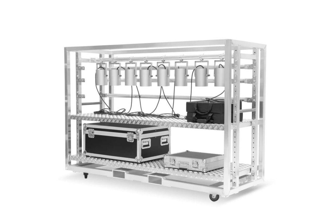MILOS Meat Rack - Bequemer Transport & Lagerung von Scheinwerfern....und mehr