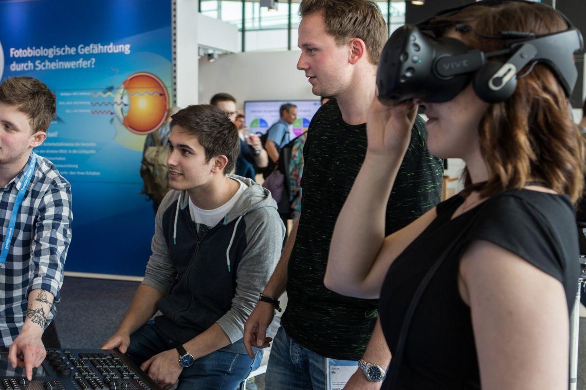 """Der neue """"Future Hub"""" auf der Prolight + Sound 2020: Start-up-Präsentation, Recruiting, Karriereplanung"""