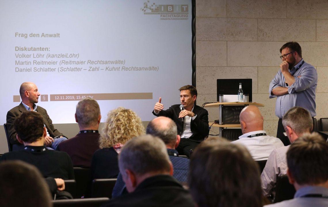 6. Fachtagung Veranstaltungssicherheit der IBIT GmbH ein voller Erfolg