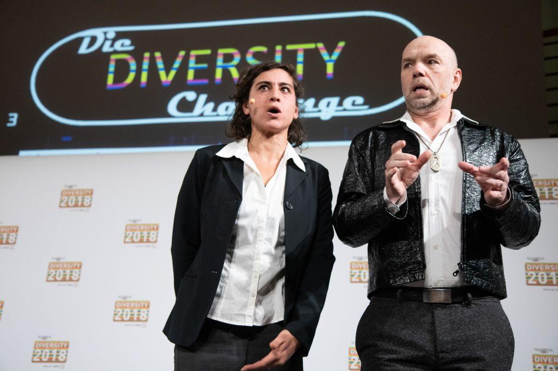 Offene Probe der DiversityShow am 5.12.2019