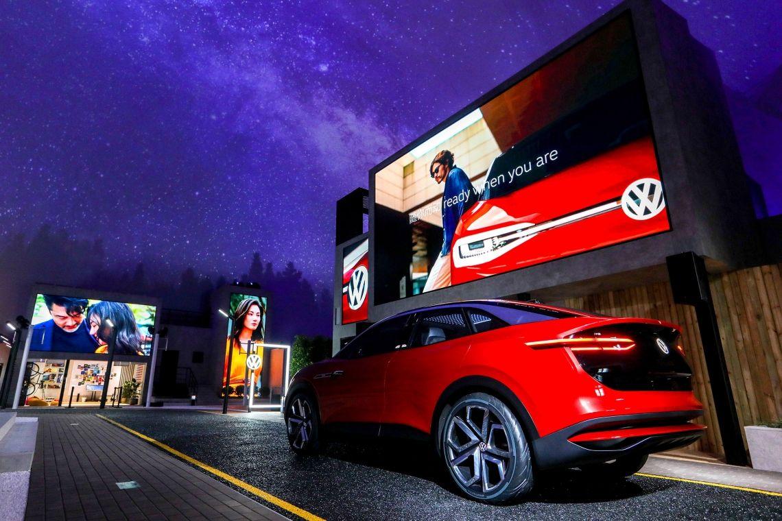VOK DAMS führt neues Volkswagen Markendesign in China ein