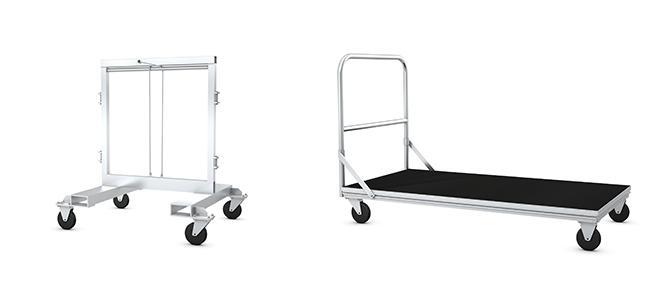 Xstage Transport Cart - Bequemer Bühnendecktransport