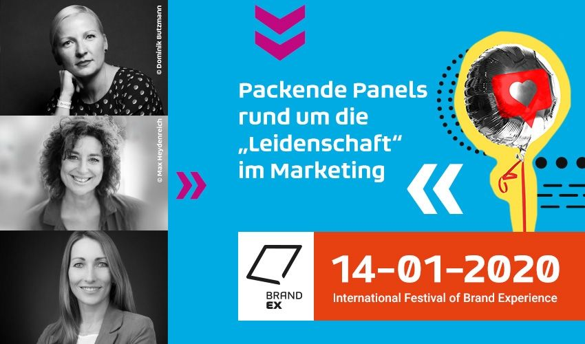 """Packende Panels rund um die """"Leidenschaft"""" im Marketing"""