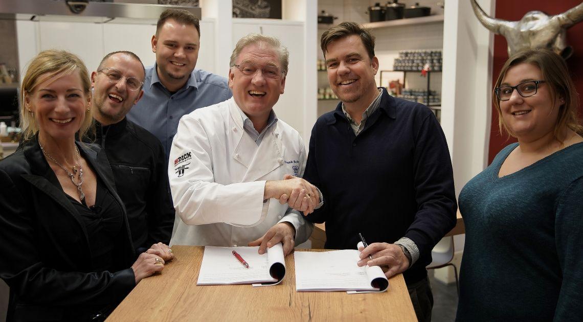 FSGG und aveato Catering unterzeichnen Kooperationsvereinbarung - Partnerschaft im professionellen Cateringgeschäft