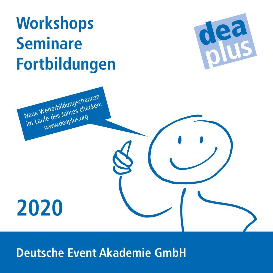Weiterbildungschancen 2020 - DEAplus Programm jetzt online
