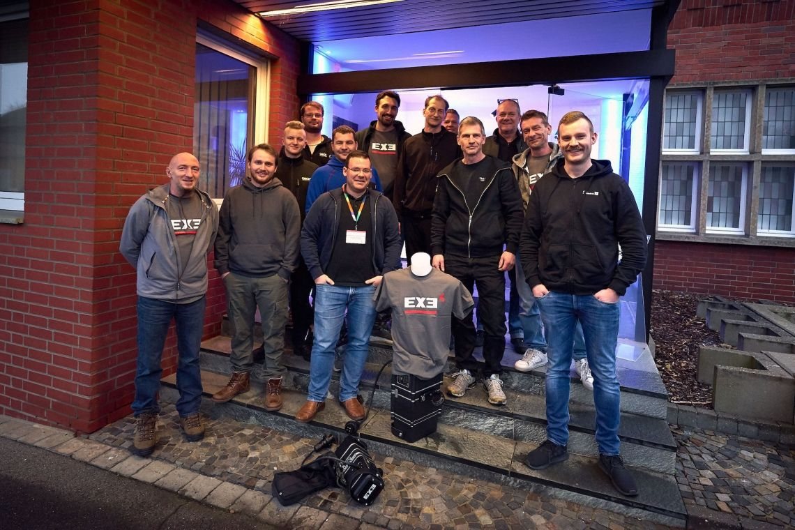 EXE Technology hält erstes Produkttraining in Deutschland