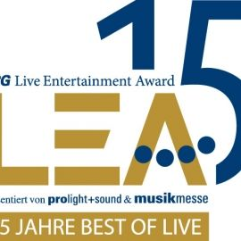 Live Entertainment Award (LEA) in Frankfurt abgesagt