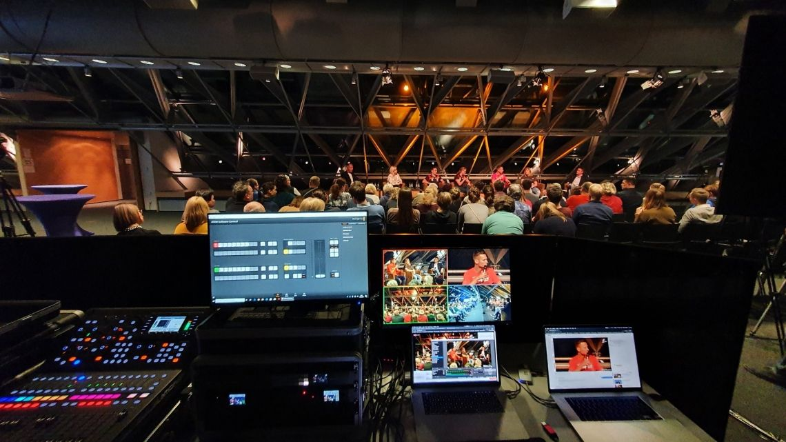 Livestreaming und Videokonferenz als Alternative zu Events