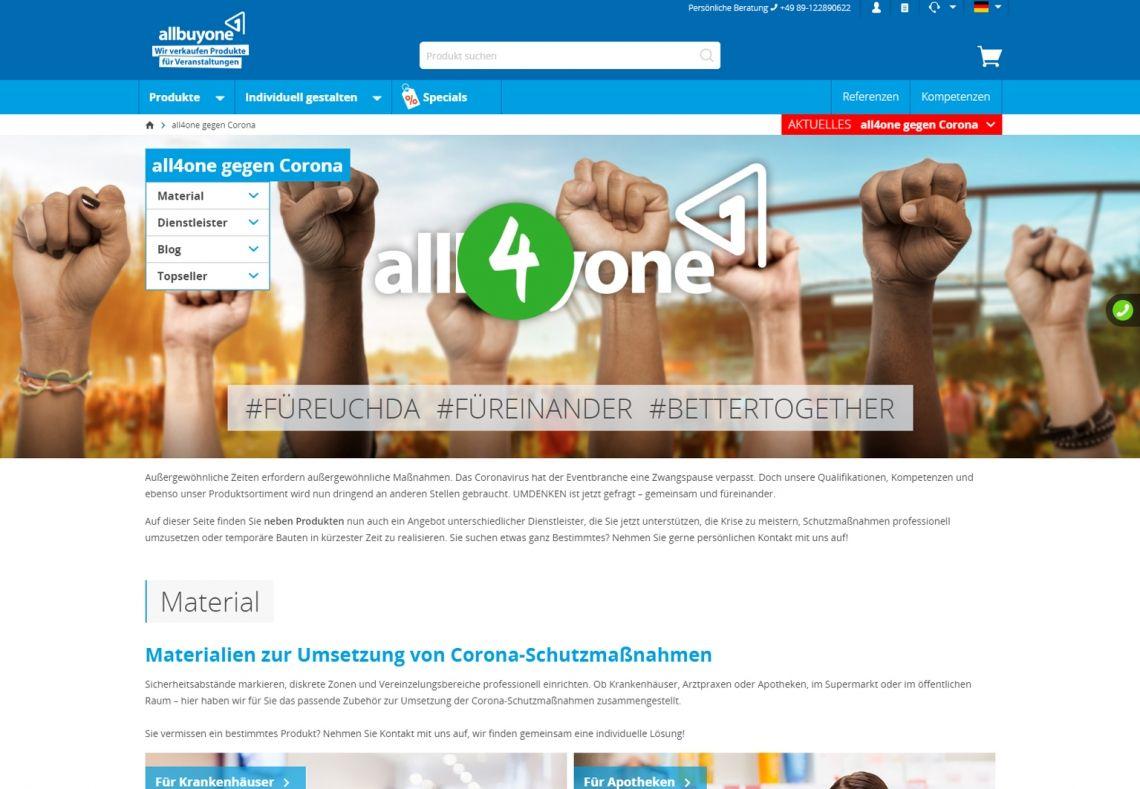 allbuyone GmbH schafft Netzwerk-Plattform für die Eventbranche