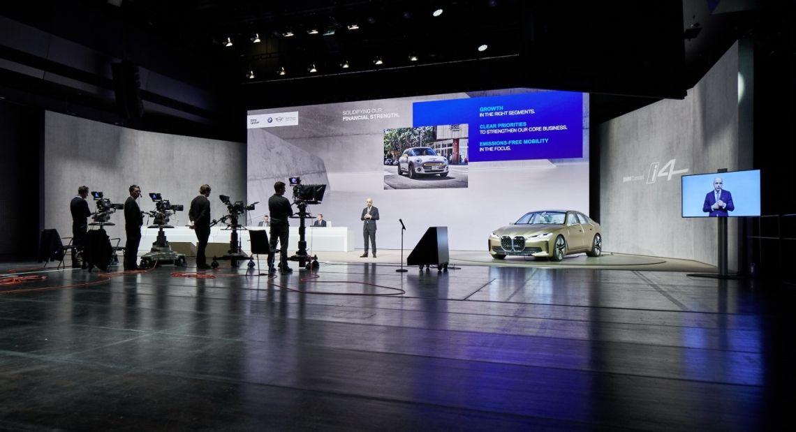 BMW Group realisiert digitale Bilanzpressekonferenz 2020 in Zusammenarbeit mit HAGEN INVENT