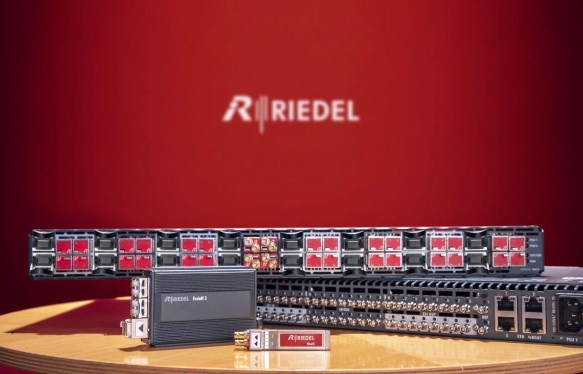 Riedel erweitert Portfolio an Videolösungen mit neuer MediorNet Hard- und Software